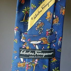 NWOT Salvatore Ferragamo tie